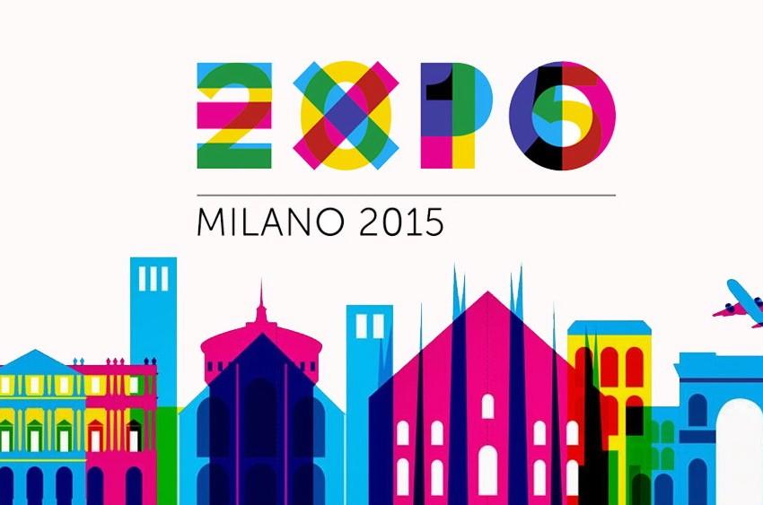LOGO Expo 2015, il simbolo dell'italia è un germoglio.